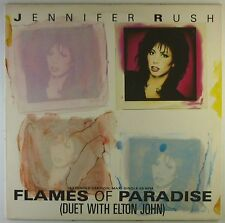 "12"" Maxi - Jennifer Rush - Flames Of Paradise - L5452h - washed & cleaned"
