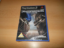 Transformers: The Game (PS2) NEW SEALED