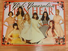 SNSD GIRLS' GENERATION - LION HEART [5TH ALBUM] CD + UNFOLD POSTER K-POP