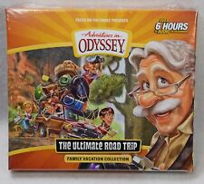 NEW The Ultimate Road Trip Adventures in Odyssey Audio CD Family Vacation Set