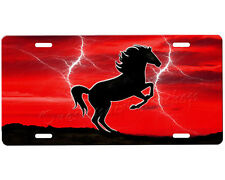 Mustang Horse license plate