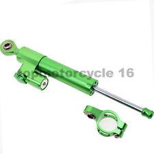 FXCNC Steering Damper Stabilizer LinearFit SUZUKI GSXR600 GSXR750 Green Aluminum