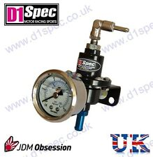 D1 SPEC FUEL PRESSURE REGULATOR BLACK UpTo450BHP INTEGRA RX7 RX8 200SX FTO EVO 7