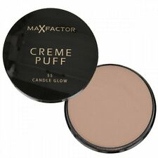Max Factor Creme Puff Compact Powder - 55 Candle Glow - NEW