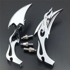 Billet Alloy Arrow Custom Mirror For Honda CBR600 RR 900 929 954 1000RR chromed