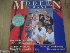 "MODERN ROMANCE - BEST YEARS OF OUR LIVES 12"" RECORD / VINYL - WEA - ROM 1T"