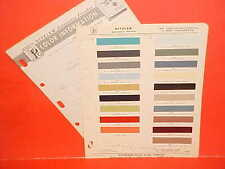 1964 LINCOLN CONTINENTAL CONVERTIBLE SEDAN FORD THUNDERBIRD LANDAU PAINT CHIPS