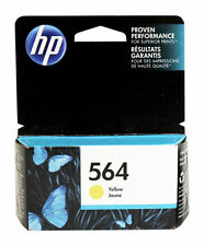 HP 564 Yellow Ink Cartridge CB320WN Genuine New