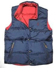 NEW Polo Ralph Lauren Mens REVERSIBLE FEATHER DOWN Vest Jacket Size Small