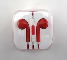Candy Colors Earphones Headset Earpods Handsfree With Mic for iPhone 5 5S 6 Plus