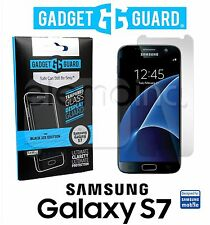 NEW GADGET GUARD Black Ice Tempered GLASS Screen Protector for SAMSUNG GALAXY S7