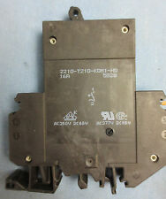 E-T-A 2210-T210-K0M1-H0-16A CIRCUIT BREAKER - 16 AMP - NEW SURPLUS