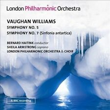 Vaughan Williams: Symphonies 5 & 7; Haitink conducts the LPO, New Music