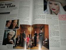L'Espresso.Tilda Swinton,Brad Pitt,Umberto Eco,jjj