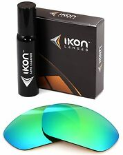 Polarized IKON Replacement Lens For Oakley Straight Jacket Asian Fit 2007 Green