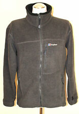 BERGHAUS Mens POLARTEC THERMAL PRO Grey FLEECE JACKET / TOP Size M Medium