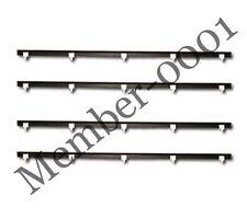 Window Door Belt Weatherstrip Rubber for 92-95 Honda Civic EX ESI DXI