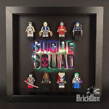 LEGO Superheroes Suicide Squad mini figure Display Frame Custom