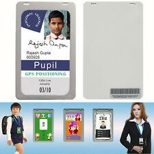 Per Bambini tesserino identific. Mini GSM GPRS GPS Tracker Nascosta Presenze