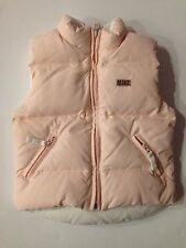 Reversible Down Puffer Vest for Girls by Napapijri. 2 years. Pink / White