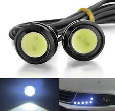 2X 23mm 12V 9W Eagle Eye LED Daytime Running DRL Backup White Light Lamp Car NEW