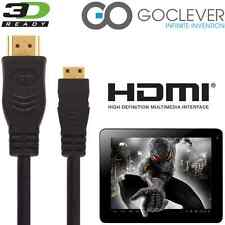 GoClever Insignia 1010 Business, Tab A73 Tablet PC HDMI Mini TV 5m Long Cable