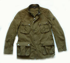 "BRAND NEW BARBOUR  "" LOCKSEAM "" BIKER MOTORCYCLE  JACKET - LARGE - RARE -  £195"