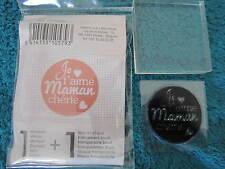 """Tampons clear """" Artémio """" + bloc..Maman.. ( AN/0045 )"""