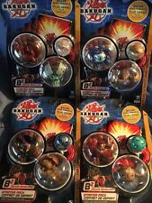 NEW 2008 Bakugan Battle Brawlers Starter Pack BakuPearl + Bakuclear Series