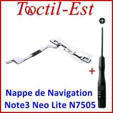 Nappe de Navigation Touche Menu Home pour Samsung Galaxy Note 3 Neo Lite N7505