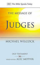 Wilcock  Michael-Message Of Judges (Bst Ot)  BOOK NEW