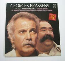 """Georges BRASSENS """"Joue avec Moustache - Volume 2"""" (Vinyle 33t / LP) 1979"""