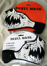 Monster Vampire Death Skeleton Half Neoprene Mask For Motorcycle,Halloween-New