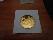Franklin Mint 1st Edition 1511 Raphael Prudence Sterling Silver 24k Gold Plated