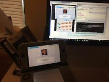 New Nintendo 3DS XL Blue MHG Limited Edition Streaming Bundle +3751Games Charger