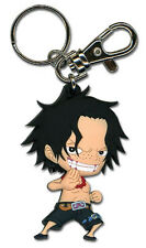 **License** One Piece PVC Keychain SD Portgas D. Ace #36803