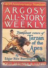 All 7 ARGOSY ALL-STORY pulps TARZAN AND THE GOLDEN LION by Edgar Rice Burroughs