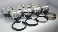 Speed Pro Chevy 350 Hypereutectic Flat Top 2VR Pistons+MOLY Rings 9.7:1 STD