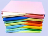 25 SHEET SAMPLE PACK A5 CARD STOCK 160GM ALL DIFFERENT COLOURS