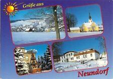 AK, Neundorf, 4 Winteransichten, 1995