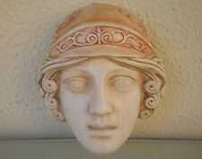 Athena Goddess Miniature Mask - Ancient Greek Theatre - Protector Of Athens