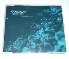 Coldplay Trouble Norwegian Live EP Free P&P.