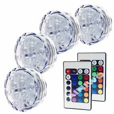 Multi Remote Underwater LED Color Magnetic Swimming Pool Wall Light Show Decor