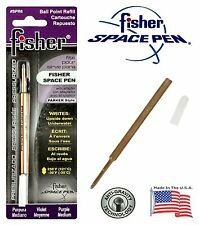 One (1) Fisher Space Pen SPR Series Purple Ink / Medium Point Refill #SPR6