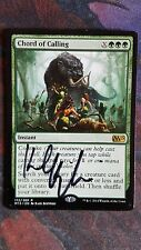 Mtg chord of calling signed  good condition