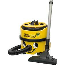 Numatic JVP180A1 James Xtra 620W Bagged Cylinder Vacuum Cleaner in Yellow New
