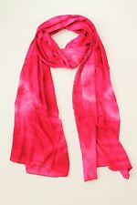 BRAND NEW HANDMADE EXTRA LONG PINK TIE DYE SCARF SARONG COVER FREE POST / SCL005