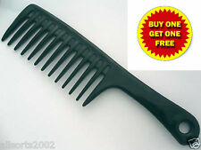 BN HUGE JUMBO WIDE TOOTH DETANGLER / BASIN / RAKE COMB BUY 1 GET 1 FREE