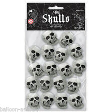 18 Halloween Horror Mini Gothic Skulls Party Children's Loot Gifts Toys Favours