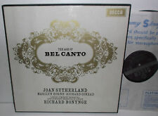 SET 268/9 Joan Sutherland Marilyn Horne Richard Conrad The Age Of Bel Canto ED1